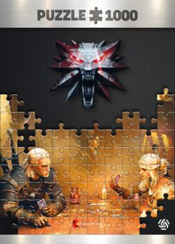 Puzzle Zaklínač (The Witcher) - Playing Gwent