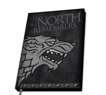 Zápisník Game Of Thrones - Stark