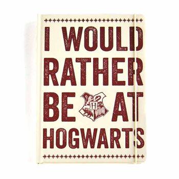 Zápisník Harry Potter - Hogwarts Slogan