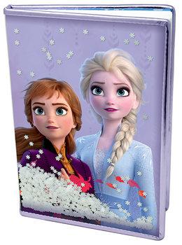Zápisník Ľadové kráľovstvo 2 - Snow Sparkles