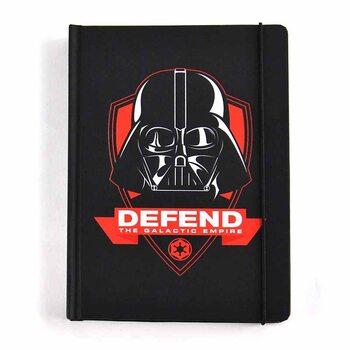 Zápisník Star Wars - Darth Vader