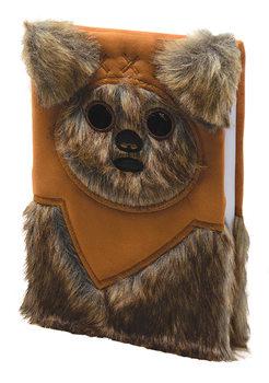 Zápisník Star Wars - Ewok Furry
