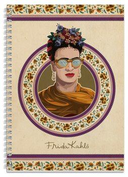 Zápisník Frida Kahlo A4