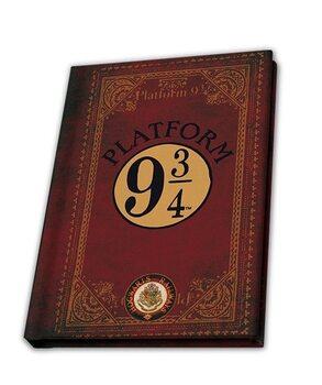 Zápisník Harry Potter - Nástupiště 9 3/4 (A6)