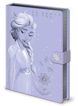 Ledové království 2 (Frozen) - Lilac Snow Zápisník