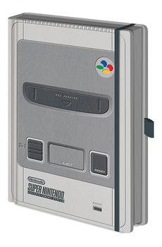 Nintendo – SNES Premium Zápisník
