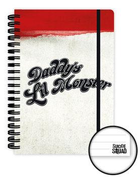 Sebevražedný oddíl - Suicide Squad - Daddy's Lil Monster Zápisník