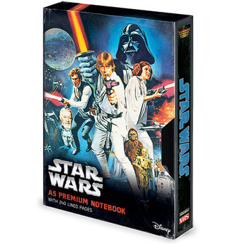 Star Wars - A New Hope VHS Zápisník
