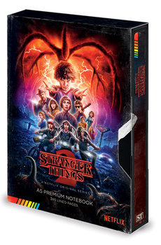 Zápisník Stranger Things - S2 VHS