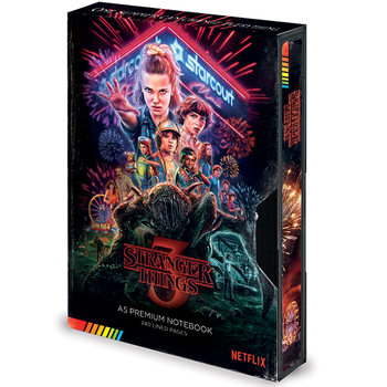 Stranger Things – Season 3 VHS Zápisník
