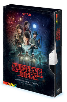 Stranger Things - VHS Zápisník