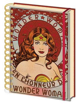 Wonder Woman - En L'Honneur De Zápisník
