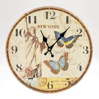 Design Clocks - New York Zegar