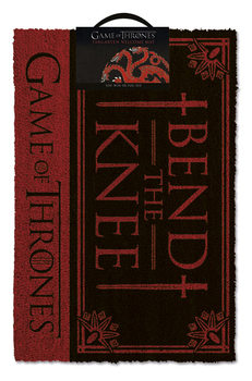 Zerbino Il Trono di Spade - Bend the knee