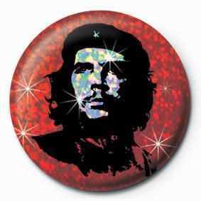 CHE GUEVARA - red Značka