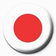 Flag - Japan Značka