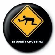 WARNING SIGN - STUDENT CRO Značka