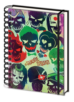 Suicide Squad - Skulls Zvezki