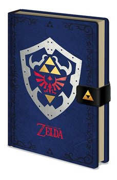The Legend of Zelda - Hylian Shield Zvezki