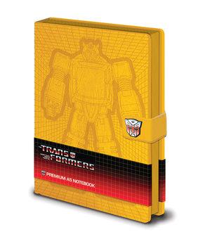 Zvezek Transformers G1 - Bumblebee