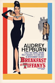 AUDREY HEPBURN - one sheet плакат