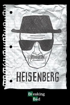 BREAKING BAD - heisenberg want плакат