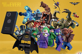 Lego Batman - Best Selfie Ever Плакат