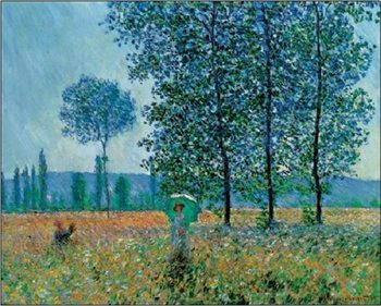 Fields In Spring Художествено Изкуство