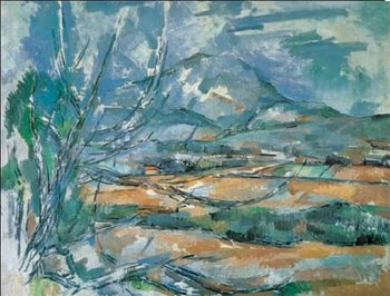 Mont Sainte-Victoire Художествено Изкуство