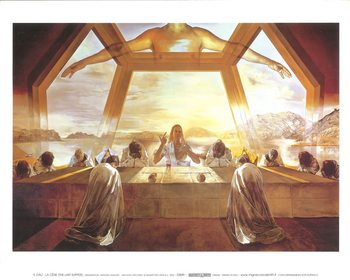 The Sacrament of the Last Supper, 1955 Художествено Изкуство
