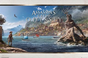 Assassins Creed Odyssey - Vista плакат