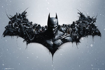 Batman Origins - Arkham Bats плакат