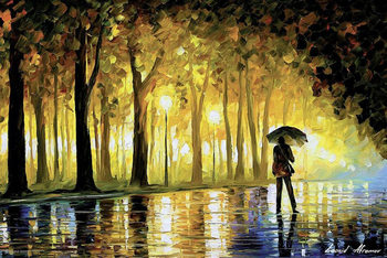 Bewitched Park - Leonid Afremov плакат