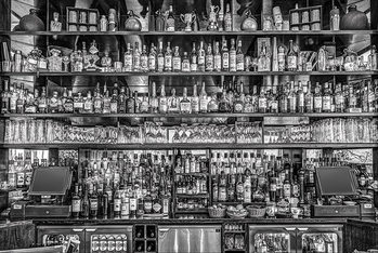 Bureau Bar - плакат