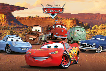 Cars - Characters - плакат