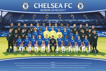 Chelsea - Team 2016/2017 плакат