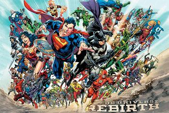 Justice League - Rebirth - плакат
