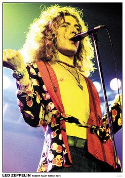 Led Zeppelin - Robert Plant March 1975 - плакат