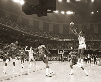 Michael Jordan - last shot - плакат
