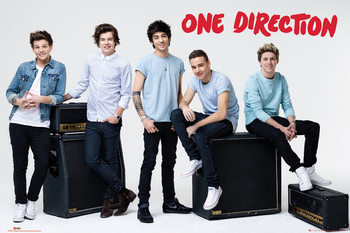 One Direction - amps плакат