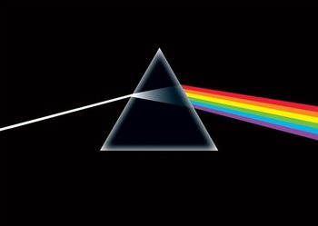 Pink Floyd - dark side - плакат