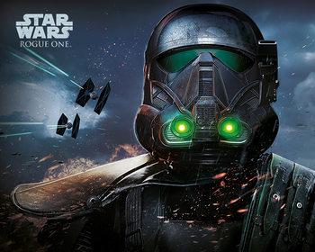 Rogue One: Star Wars Story - Death Trooper Glow плакат