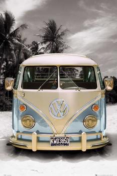 VW California camper плакат