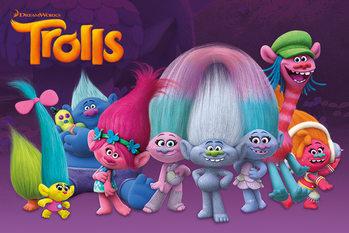 Les Trolls - Characters Poster