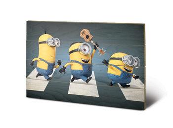 Art en tabla Gru: Mi villano favorito - Abbey Road