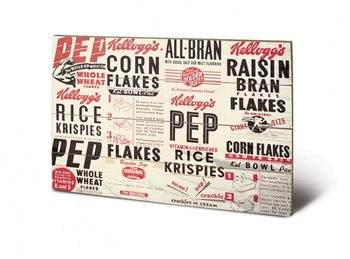Art en tabla VINTAGE KELLOGGS - box m.