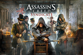 Assassin's Creed Syndicate - Pub - плакат (poster)