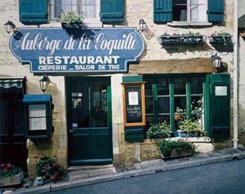 Auberge De La Coquille Festmény reprodukció