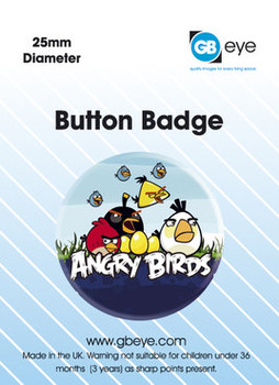 ANGRY BIRDS Badge