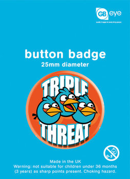 ANGRY BIRDS - Triple Threat Badge